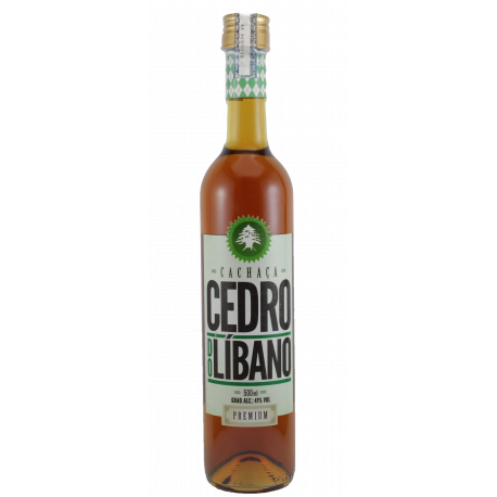 Cachaça Cedro do Líbano Premium 500ml